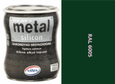 Vitex Heavy Metal Silikon - alkyd RAL 6005 750ml